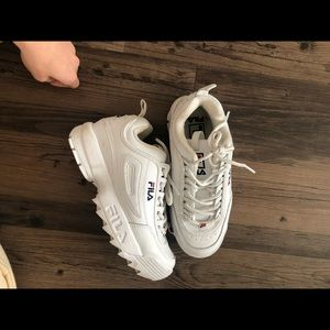 FILA WHITE disruptor women 6.5